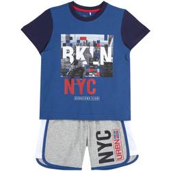 Oblečenie Chlapci Komplety a súpravy Chicco 09076963000000 Modrá