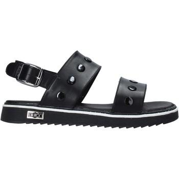 Topánky Dievčatá Sandále Cult PLATE1 čierna