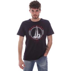 Oblečenie Muži Tričká s krátkym rukávom Navigare NV31113 Modrá