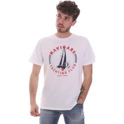 Oblečenie Muži Tričká s krátkym rukávom Navigare NV31113 Biely