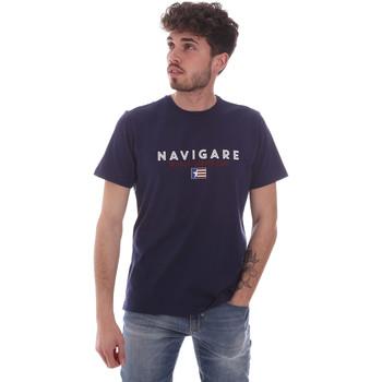 Oblečenie Muži Tričká s krátkym rukávom Navigare NV31139 Modrá