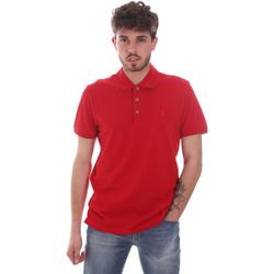 Oblečenie Muži Polokošele s krátkym rukávom Navigare NV82108 Červená