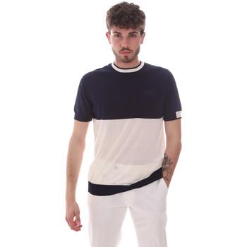 Oblečenie Muži Tričká s krátkym rukávom Antony Morato MMSW01166 YA100062 Modrá