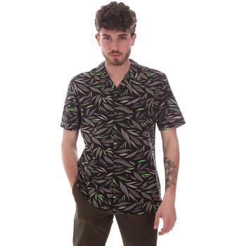 Oblečenie Muži Košele s krátkym rukávom Antony Morato MMSS00168 FA430474 čierna