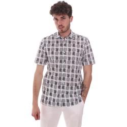 Oblečenie Muži Košele s krátkym rukávom Antony Morato MMSS00169 FA430473 Biely
