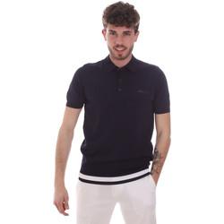 Oblečenie Muži Polokošele s krátkym rukávom Antony Morato MMSW01174 YA500057 Modrá