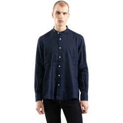 Oblečenie Muži Košele s dlhým rukávom Refrigiwear RM0C10100LI9110 Modrá