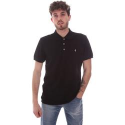 Oblečenie Muži Polokošele s krátkym rukávom Navigare NV82108 čierna