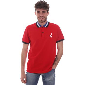 Oblečenie Muži Polokošele s krátkym rukávom Navigare NV82116 Červená