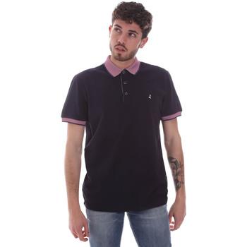 Oblečenie Muži Polokošele s krátkym rukávom Navigare NV82125 Modrá
