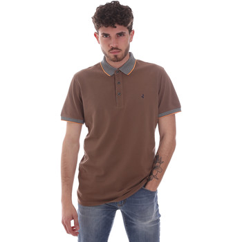 Oblečenie Muži Polokošele s krátkym rukávom Navigare NV82125 Hnedá