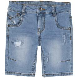 Oblečenie Deti Šortky a bermudy Chicco 09000408000000 Modrá