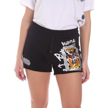 Oblečenie Ženy Šortky a bermudy Disclaimer 21EDS50650 čierna