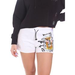 Oblečenie Ženy Šortky a bermudy Disclaimer 21EDS50650 Biely
