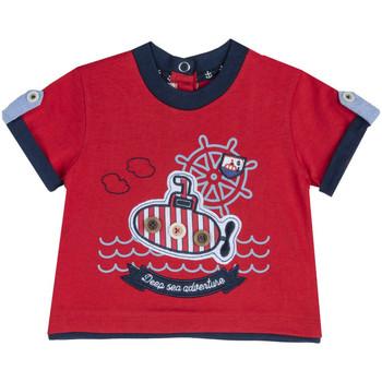 Oblečenie Deti Tričká s krátkym rukávom Chicco 09067162000000 Červená