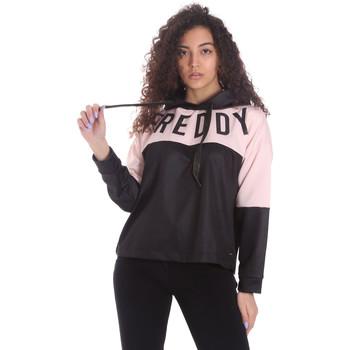 Oblečenie Ženy Mikiny Freddy S1WSDS9 čierna