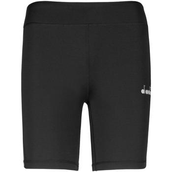 Oblečenie Ženy Šortky a bermudy Diadora 102176130 čierna