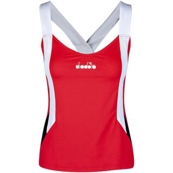Oblečenie Ženy Tielka a tričká bez rukávov Diadora 102175658 Červená