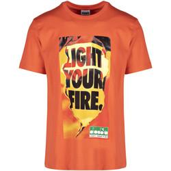 Oblečenie Muži Tričká s krátkym rukávom Diadora 502175837 Oranžová