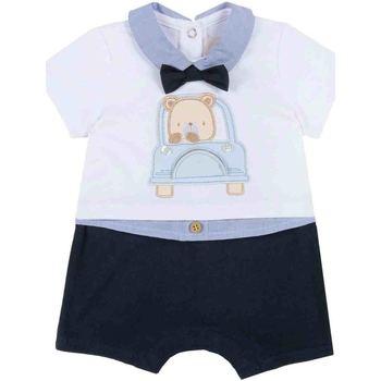 Oblečenie Chlapci Módne overaly Chicco 09050851000000 Modrá
