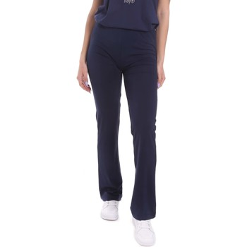 Oblečenie Ženy Padavé nohavice Key Up 5LI20 0001 Modrá