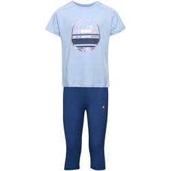 Oblečenie Deti Komplety a súpravy Diadora 102175918 Modrá
