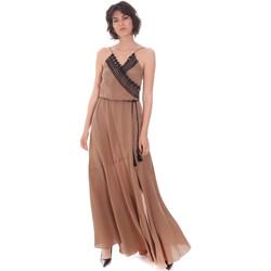 Oblečenie Ženy Dlhé šaty Cristinaeffe 0704 2498 Béžová