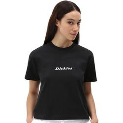 Oblečenie Ženy Tričká s krátkym rukávom Dickies DK0A4XBABLK1 čierna