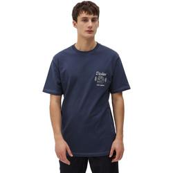 Oblečenie Muži Tričká s krátkym rukávom Dickies DK0A4X9NNV01 Modrá