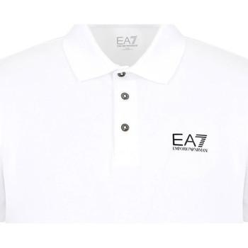 Oblečenie Muži Polokošele s krátkym rukávom Ea7 Emporio Armani 8NPF04 PJM5Z Biely