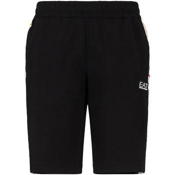Oblečenie Muži Šortky a bermudy Ea7 Emporio Armani 3KPS81 PJ05Z čierna