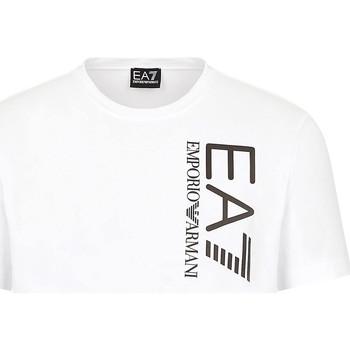 Oblečenie Muži Tričká s krátkym rukávom Ea7 Emporio Armani 3KPT10 PJ7RZ Biely
