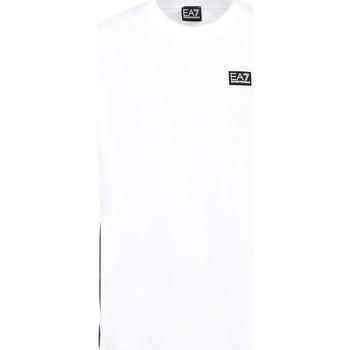 Oblečenie Muži Tričká s krátkym rukávom Ea7 Emporio Armani 3KPT13 PJ02Z Biely
