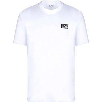 Oblečenie Muži Tričká s krátkym rukávom Ea7 Emporio Armani 3KPT63 PJ6EZ Biely