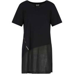 Oblečenie Ženy Tričká s krátkym rukávom Ea7 Emporio Armani 3KTT36 TJ4PZ čierna