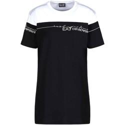 Oblečenie Ženy Tričká s krátkym rukávom Ea7 Emporio Armani 3KTT59 TJBEZ čierna