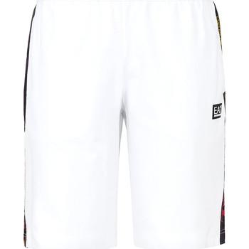 Oblečenie Muži Plavky  Ea7 Emporio Armani 3KPS81 PJ05Z Biely