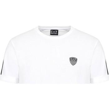Oblečenie Muži Tričká s krátkym rukávom Ea7 Emporio Armani 3KPT56 PJ4MZ Biely
