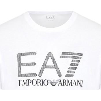 Oblečenie Muži Tričká s krátkym rukávom Ea7 Emporio Armani 3KPT81 PJM9Z Biely