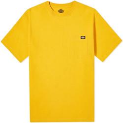 Oblečenie Muži Tričká s krátkym rukávom Dickies DK0A4TMOB591 žltá
