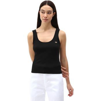 Oblečenie Ženy Tielka a tričká bez rukávov Dickies DK0A4XB9BLK1 čierna