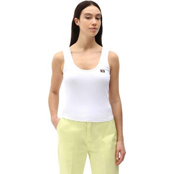 Oblečenie Ženy Tielka a tričká bez rukávov Dickies DK0A4XB9WHX1 Biely