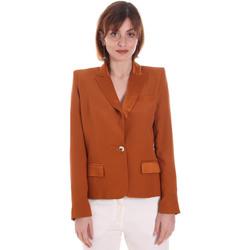 Oblečenie Ženy Saká a blejzre Cristinaeffe 0306 2545 Hnedá