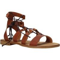 Topánky Ženy Sandále Keys K-4880 Hnedá