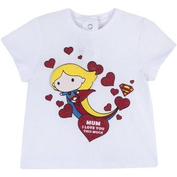 Oblečenie Dievčatá Tričká s krátkym rukávom Chicco 09067360000000 Biely