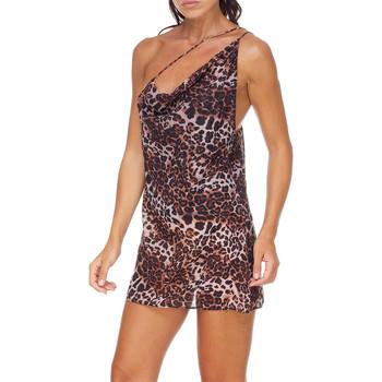 Oblečenie Ženy Krátke šaty Me Fui M20-0456X1 Hnedá