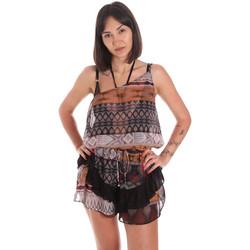 Oblečenie Ženy Módne overaly Me Fui M20-0060X1 Hnedá