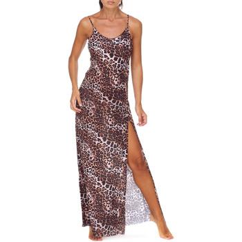 Oblečenie Ženy Dlhé šaty Me Fui M20-0462X1 Hnedá