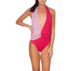 Oblečenie Ženy Plavky jednodielne Me Fui M20-0008FX Ružová