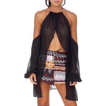 Oblečenie Ženy Blúzky Me Fui M20-0053NR čierna